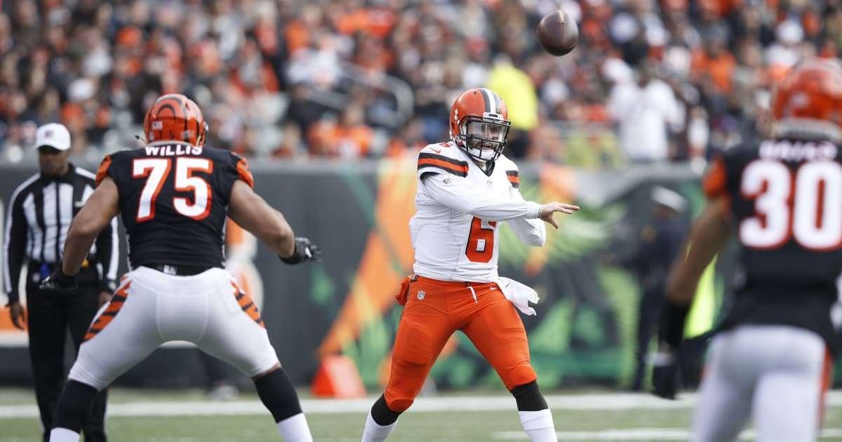 bengals browns betting line
