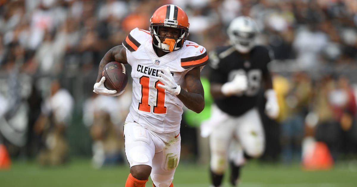 pretty nice add6b 4e4dd Browns WR Antonio Callaway Expected to Play in Week 5 ...