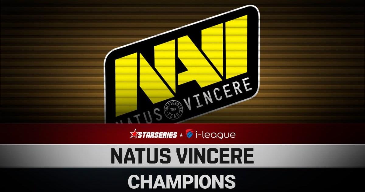 Na'Vi defeat Fnatic to win CS:GO Starseries i-League Season 7