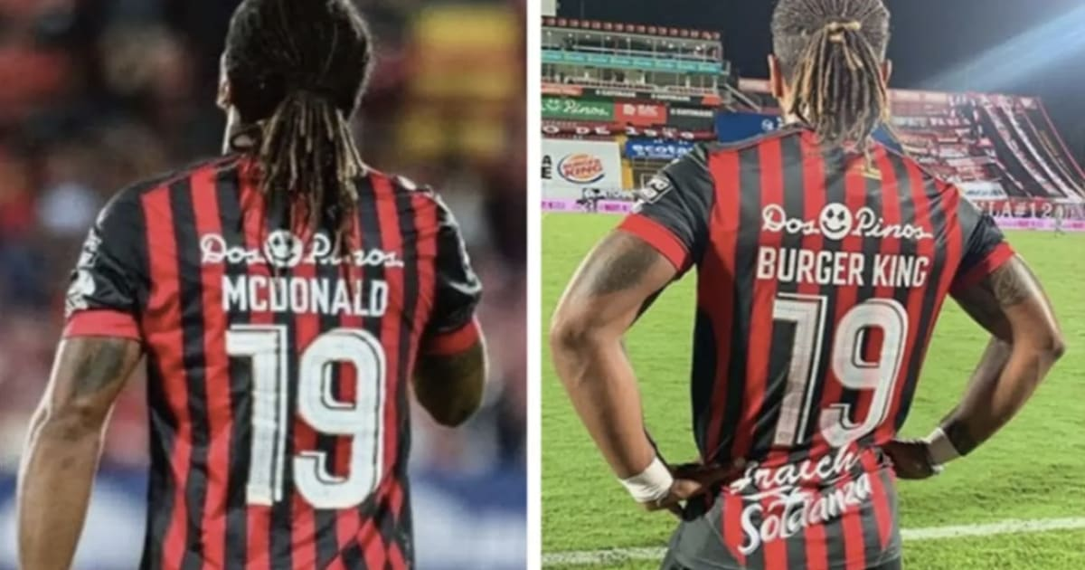 A Player Called McDonald Has Changed His Shirt Name To Burger King