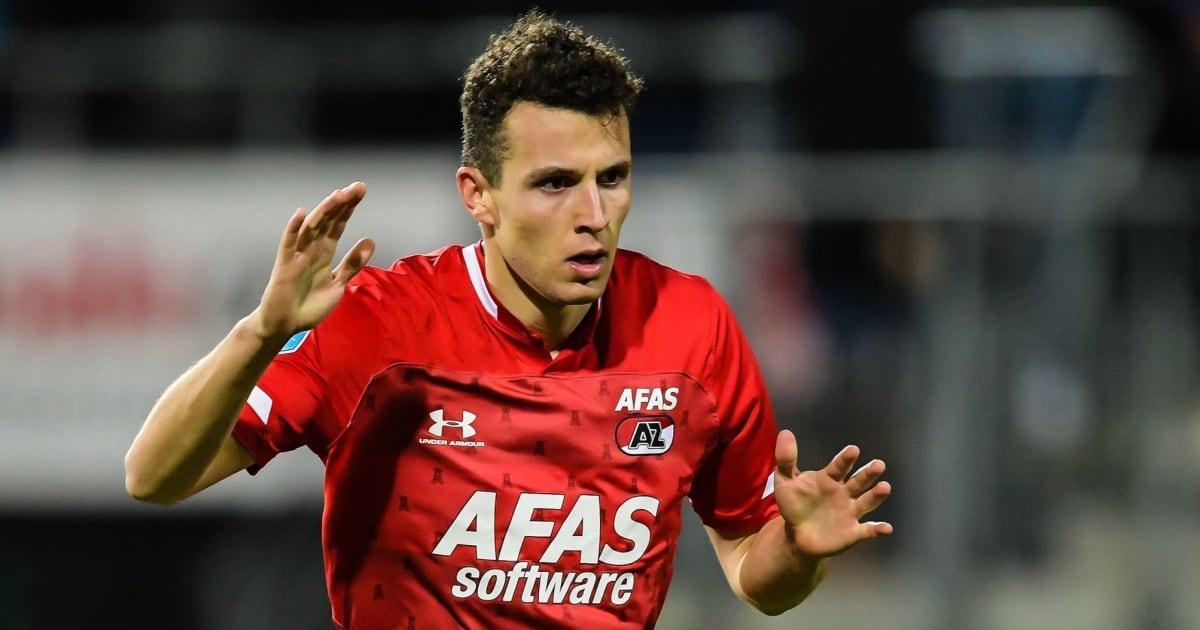 Everton, Leicester and West Ham Battle Roma for Winger AZ Alkmaar Winger Oussama Idrissi   90min