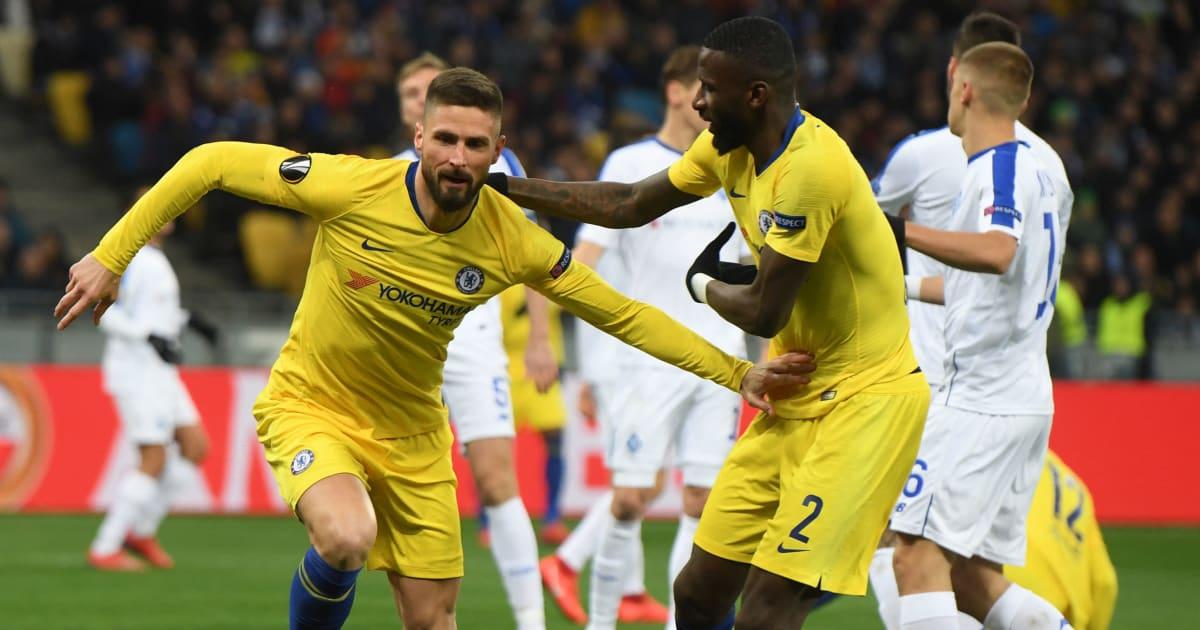 Dynamo Kyiv Vs Chelsea Image: VIDEO: GOL! Giroud Bawa Chelsea Unggul Vs Kiev! (Agg. 4-0