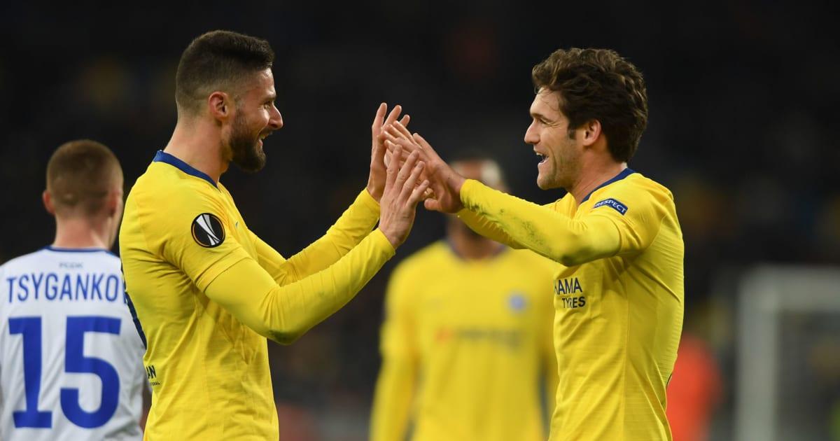 Dynamo Kyiv Vs Chelsea Image: VIDEO: GOL! Marcos Alonso Jadikan Skor 3-0 Untuk Chelsea