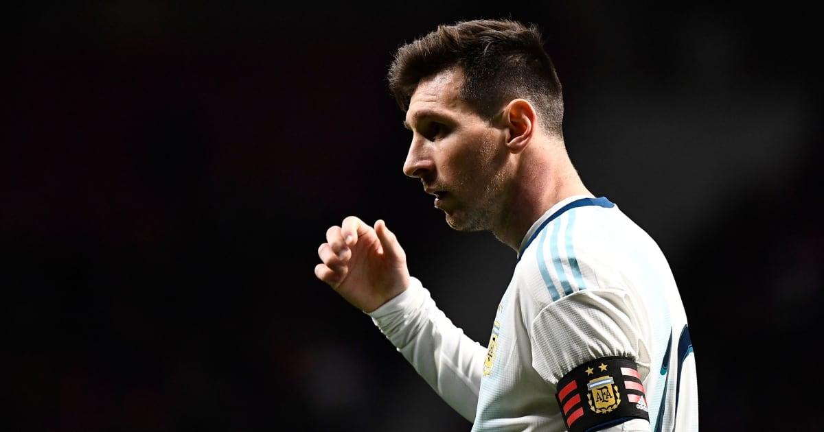 Messi dính chấn thương trong ngày trở lại tuyển Argentina