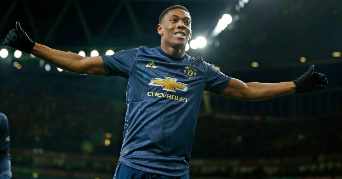 Anthony Martial Handed #9 Shirt (Again) as Manchester
