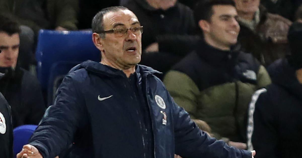 Pokal-Aus gegen United: Chelsea-Fans skandieren gegen Maurizio Sarri