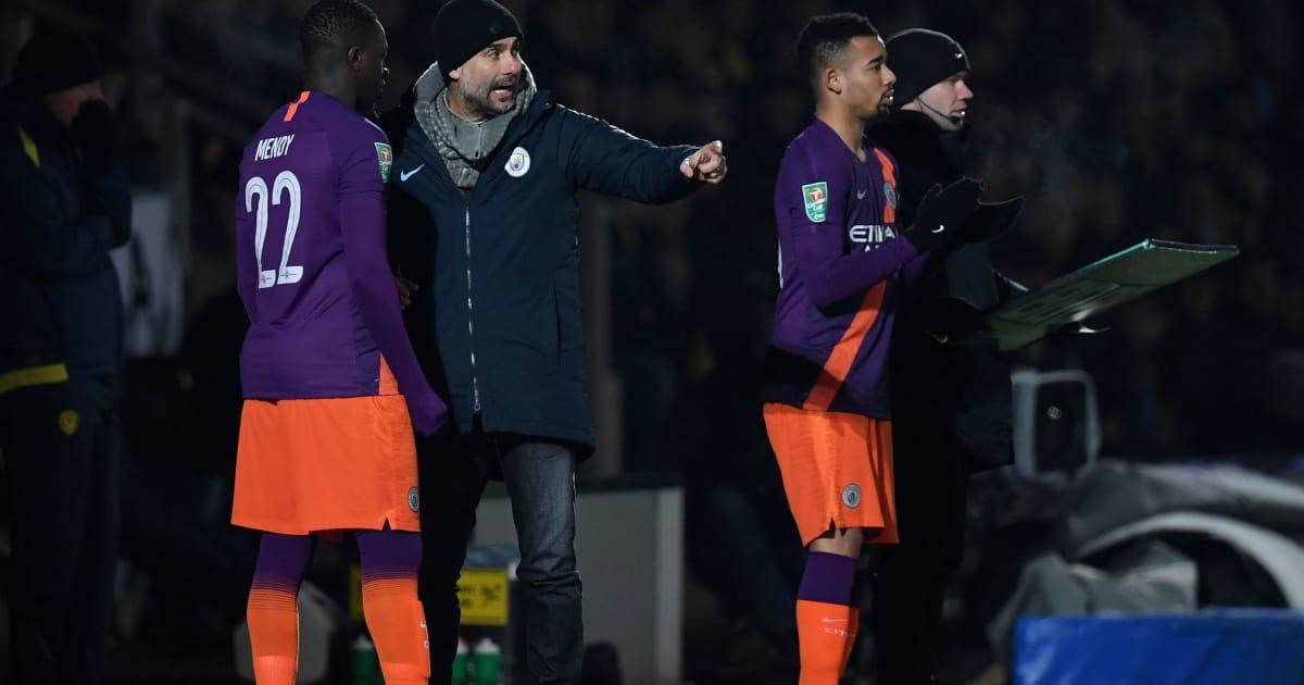Pep Guardiola Slams 'Dangerous' Burton Pitch After Man City Reach Carabao Cup Final