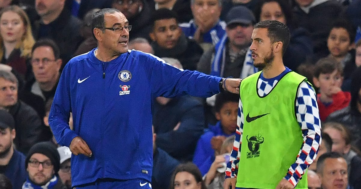 'Maurizio Sarri Cannot Turn me Into a Dries Mertens' - Eden Hazard Prefers Playing as a Winger