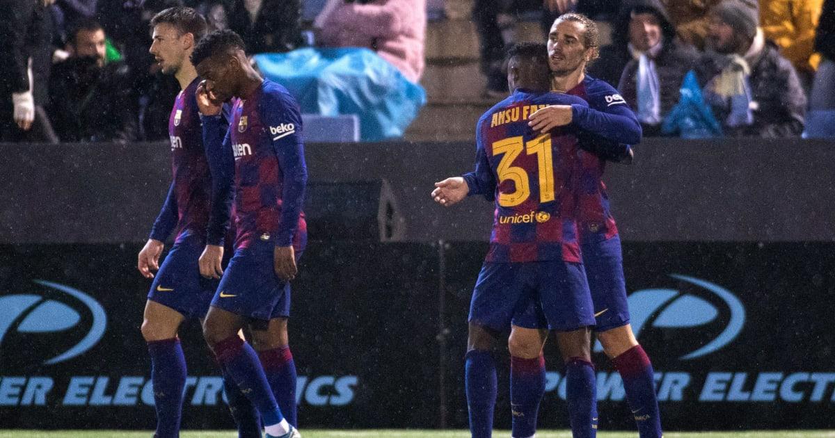 Rating Pemain Barcelona vs Ibiza - Copa del Rey: Nyaris ...