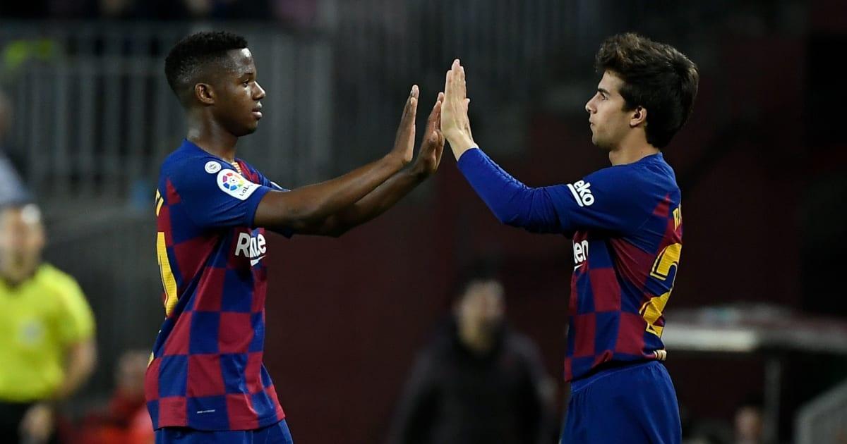 Les 5 joueurs de la Masia qui représentent le futur du FC Barcelone