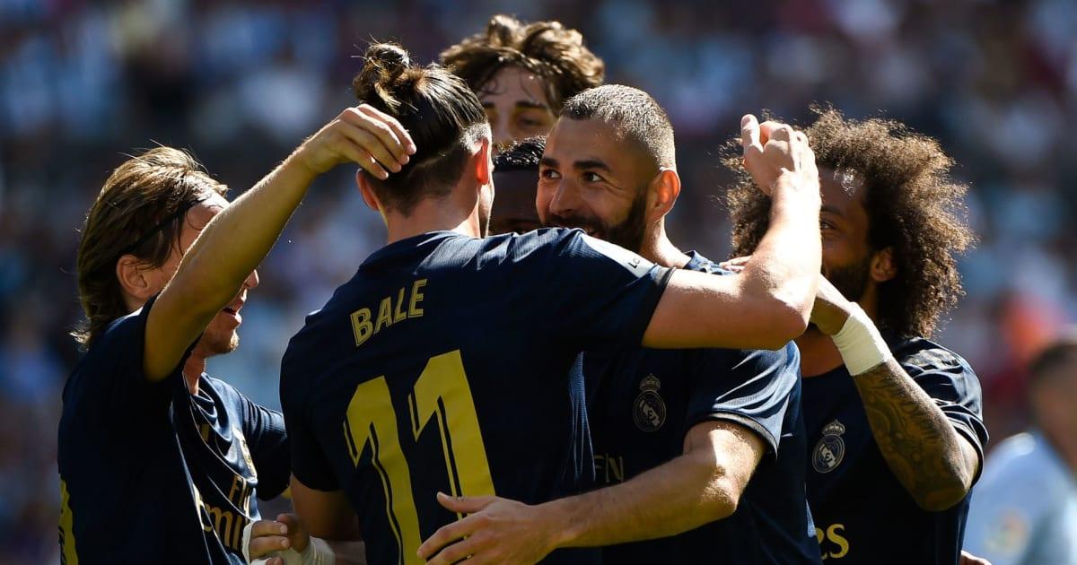 លទ្ធផលរូបភាពសម្រាប់ Diwarnai Kartu Merah, Real Madrid Awali La Liga dengan Kemenangan Kontra Celta Vigo