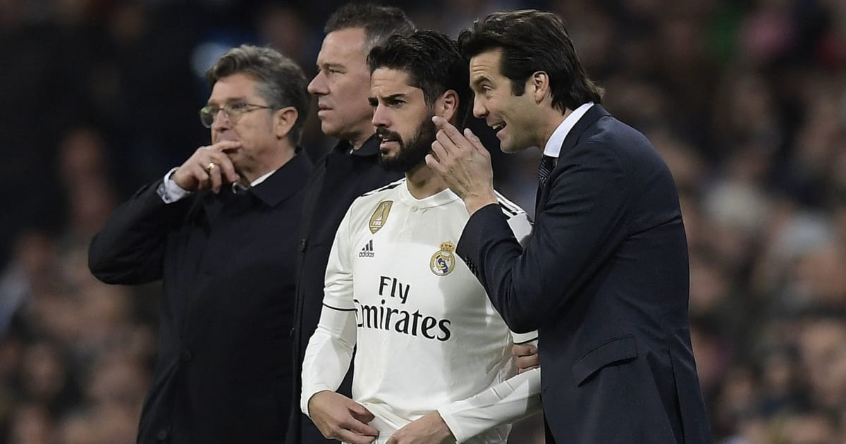 Santiago Solari Says He Will Not Advise Isco on Regaining Place in Real Madrid First Team