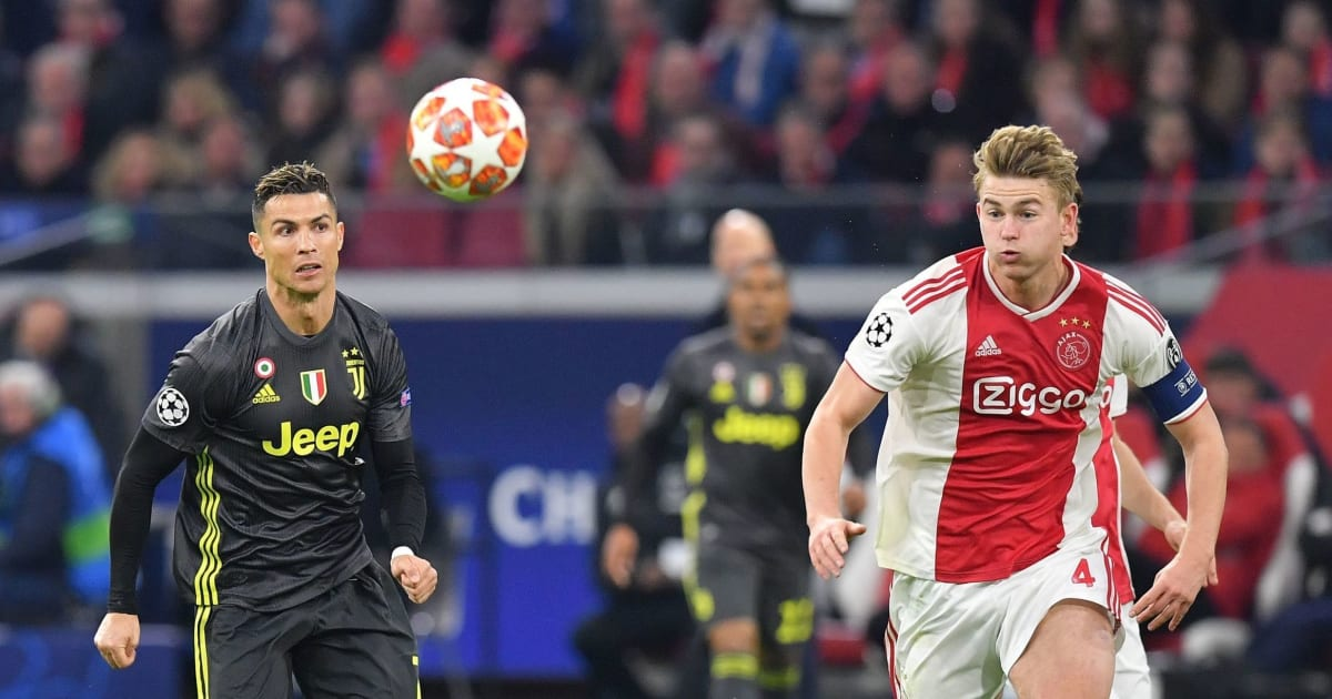 Ajax Juventus Twitter: Twitter Reacts After Cristiano Ronaldo Nets 125th