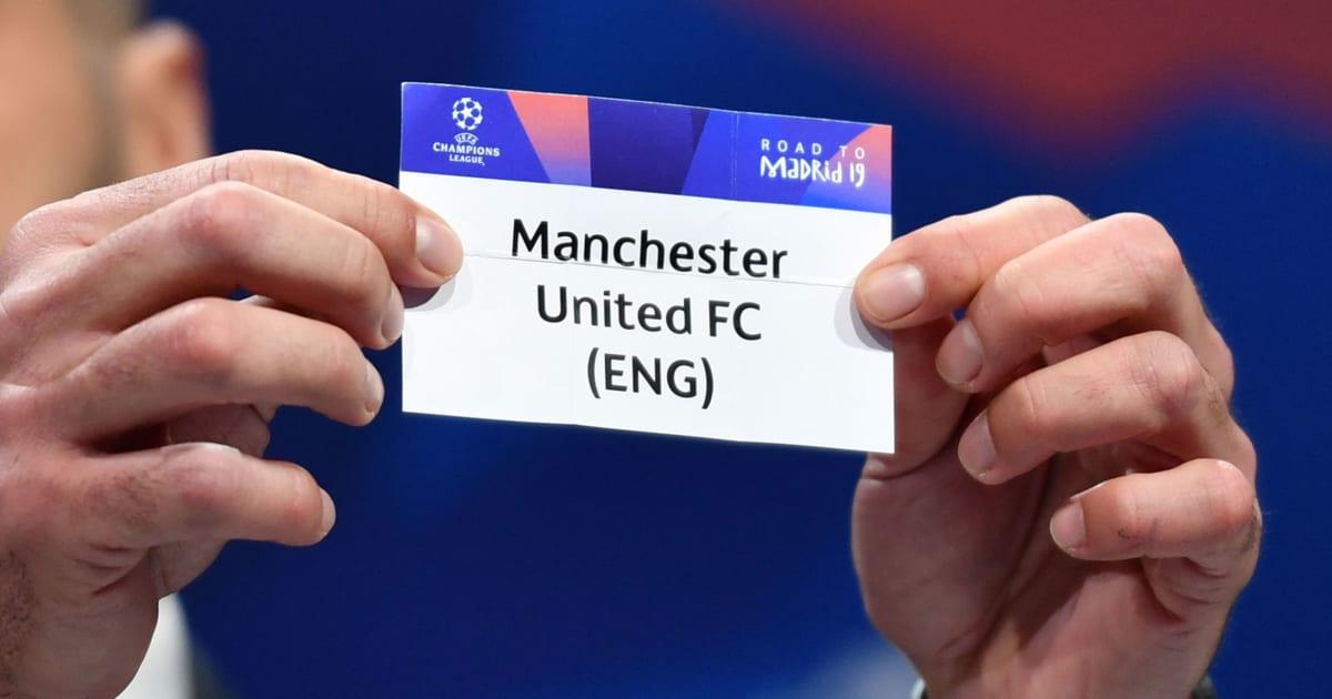 Kết quả bốc thăm tứ kết Champions League: MU bị đổi lịch thi đấu