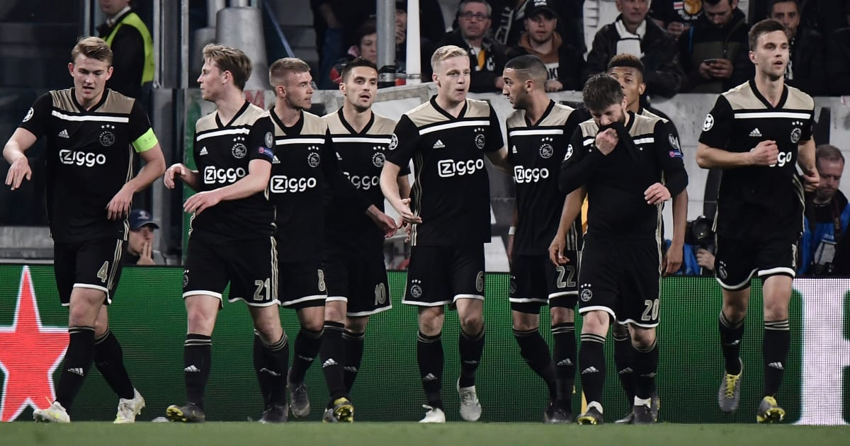Ajax Juventus Twitter: Twitter Reacts As Ajax's Champions League Adventure