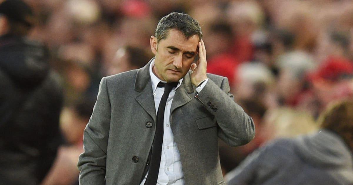 Fan Barca nhận tin buồn từ HLV Valverde