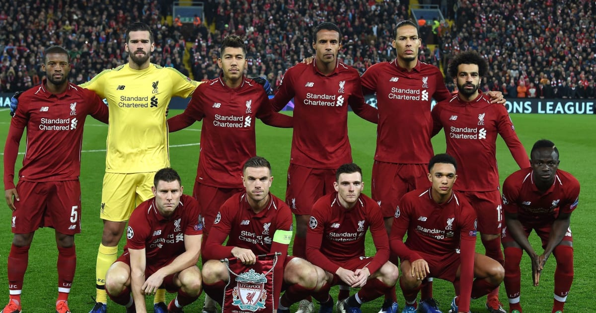 Prediksi Lineup Liverpool vs Porto - Champions League   90min