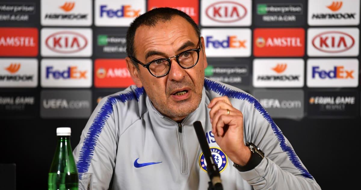 Sarri họp báo đầy giận giữ: 'Tôi có thể rời Chelsea ngay lập tức'
