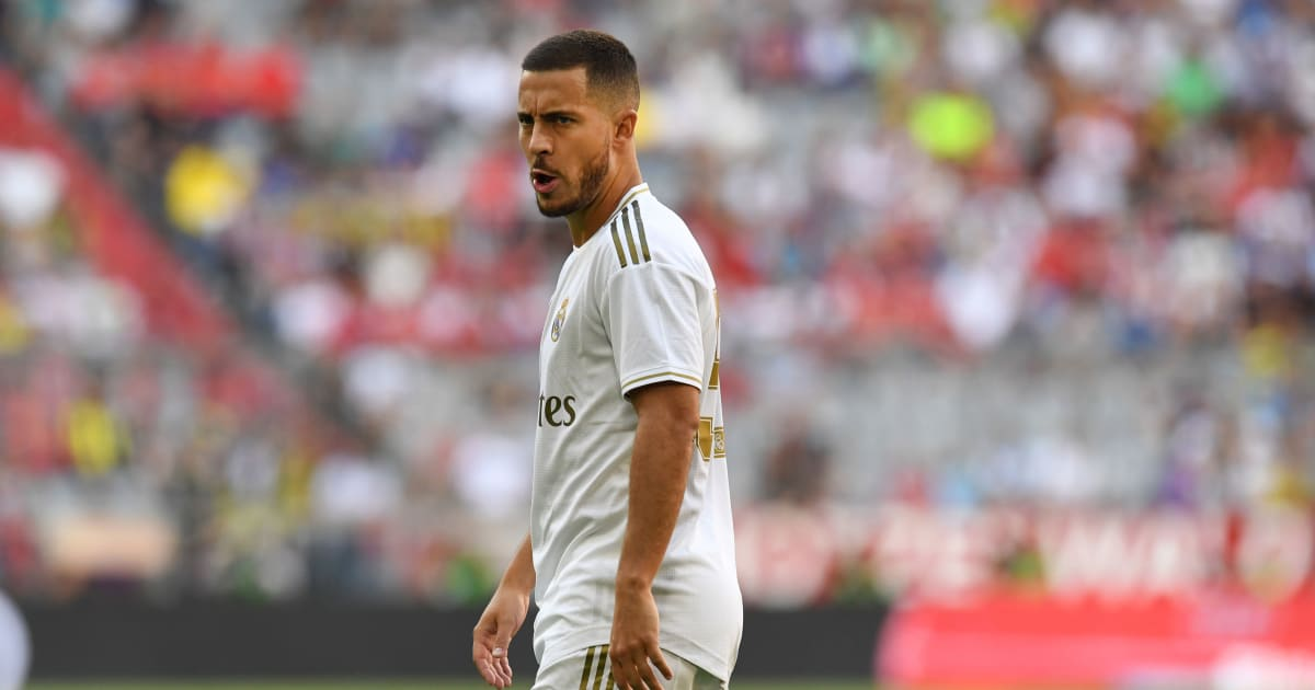 Eden Hazard Handed Famous Real Madrid Shirt Number As James Rodriguez Earns Place In Squad 90min