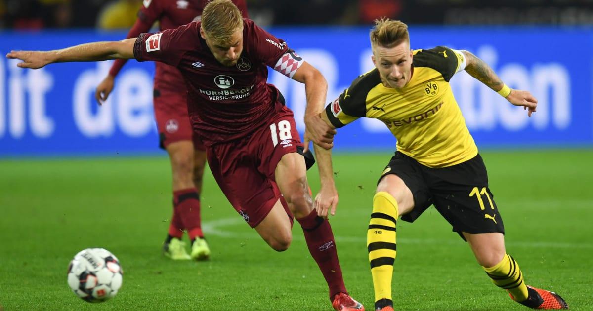 Nürnberg - Dortmund | Live-Übertragung und voraussichtliche Aufstellung