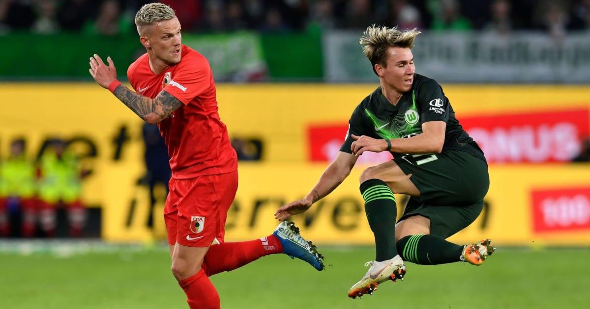 Футбол Аугсбург - Вольфсбург 16.05.2020 смотреть онлайн прямой эфир