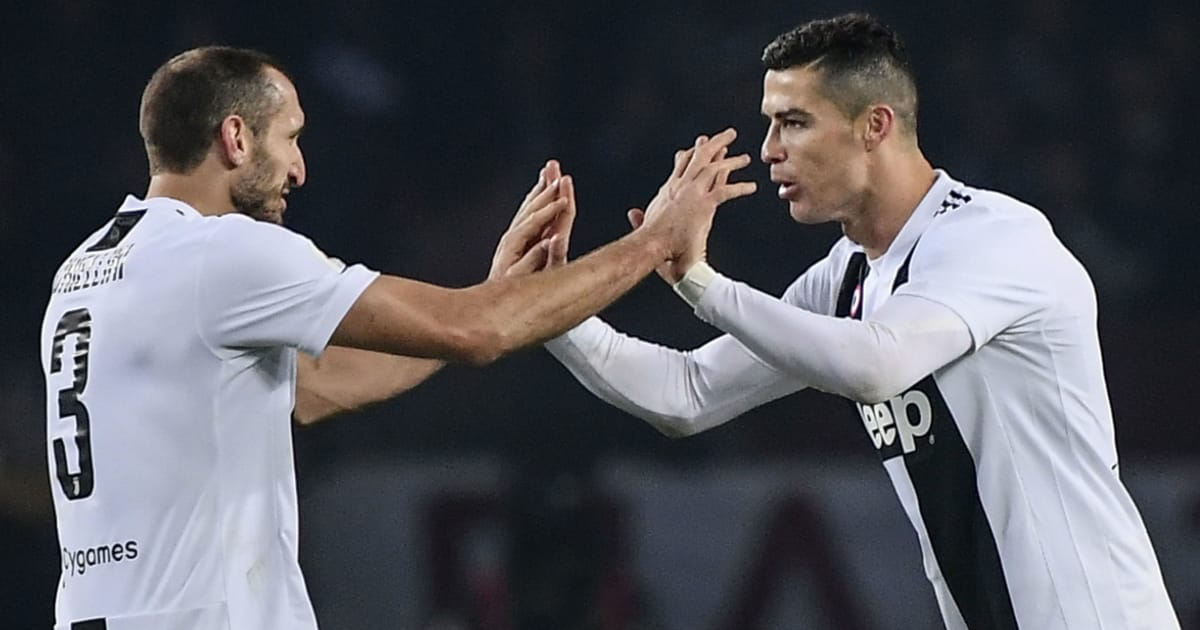 Giorgio Chiellini Admits He 'Didn't Believe' Initial Rumours Linking Cristiano Ronaldo With Juventus