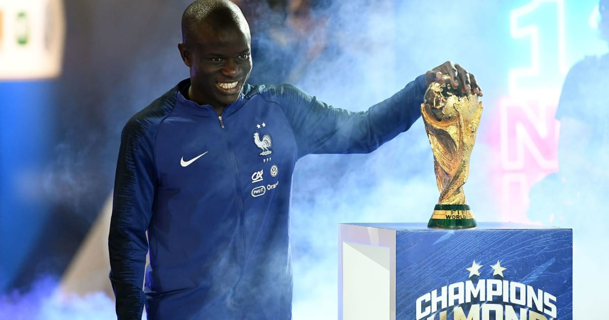'I'm a Competitor': N'Golo Kante Laughs Off Cheater Song After World Cup Homecoming Seranade