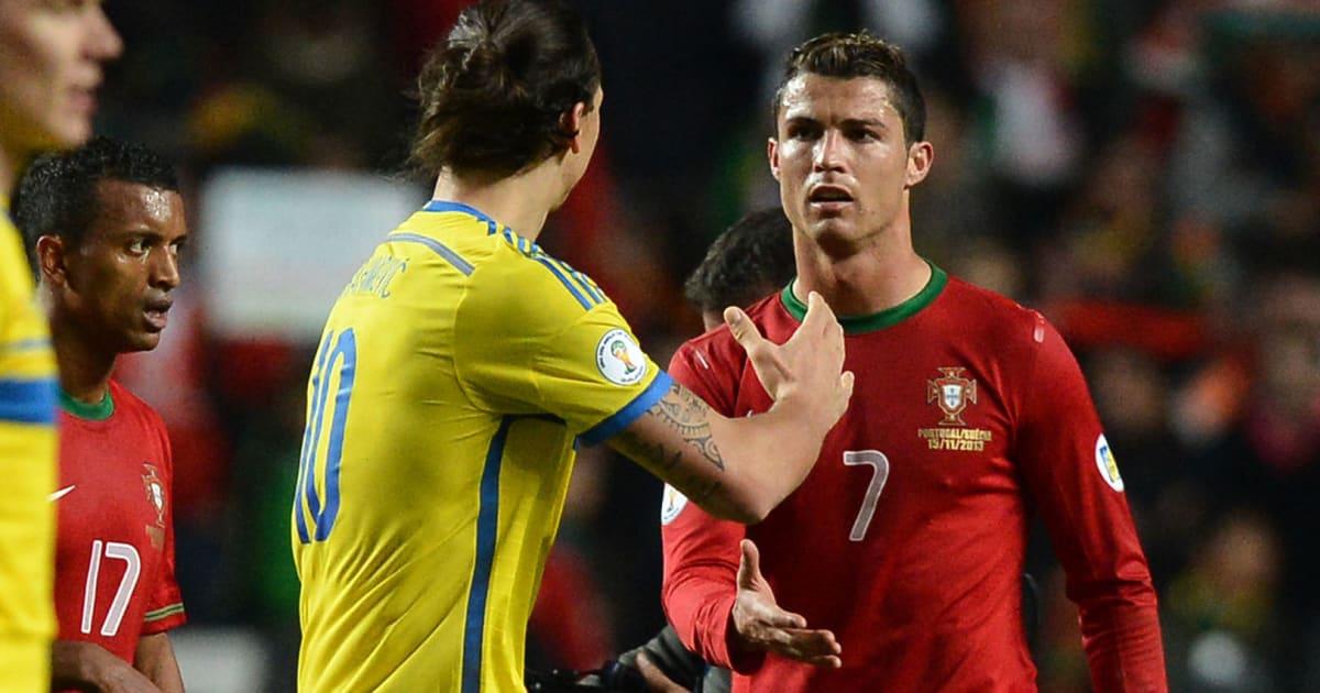 Ibrahimovic thanh minh về việc nói xấu Ronaldo