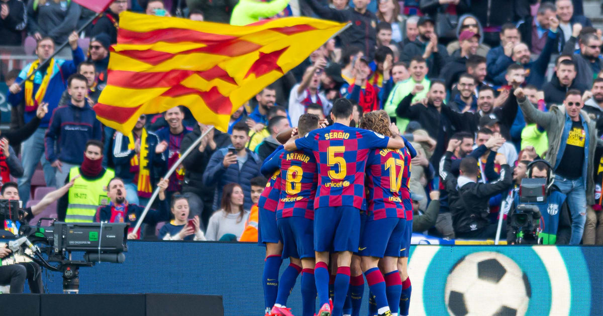 Twitter Reacts as Barcelona Close in on Top Spot With
