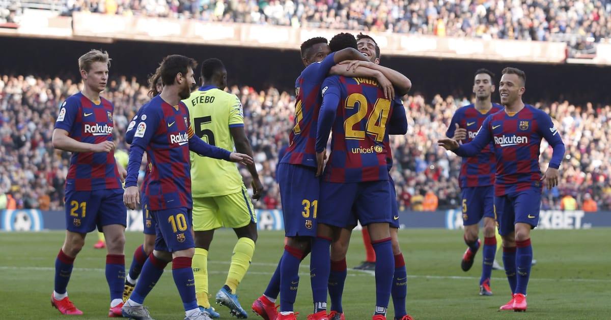 Flipboard: Barcelona vs. Getafe Live Stream: Watch Online