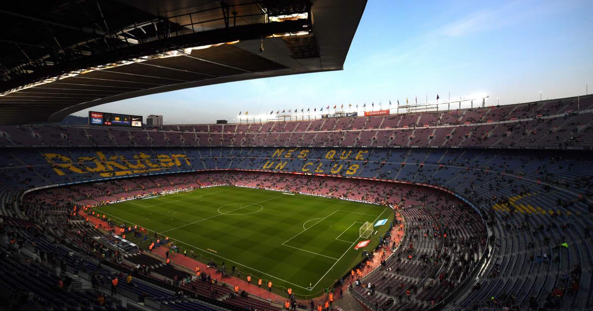 Supporter Injured After Piece of Camp Nou Roof Falls During Barcelona's Win Over Levante