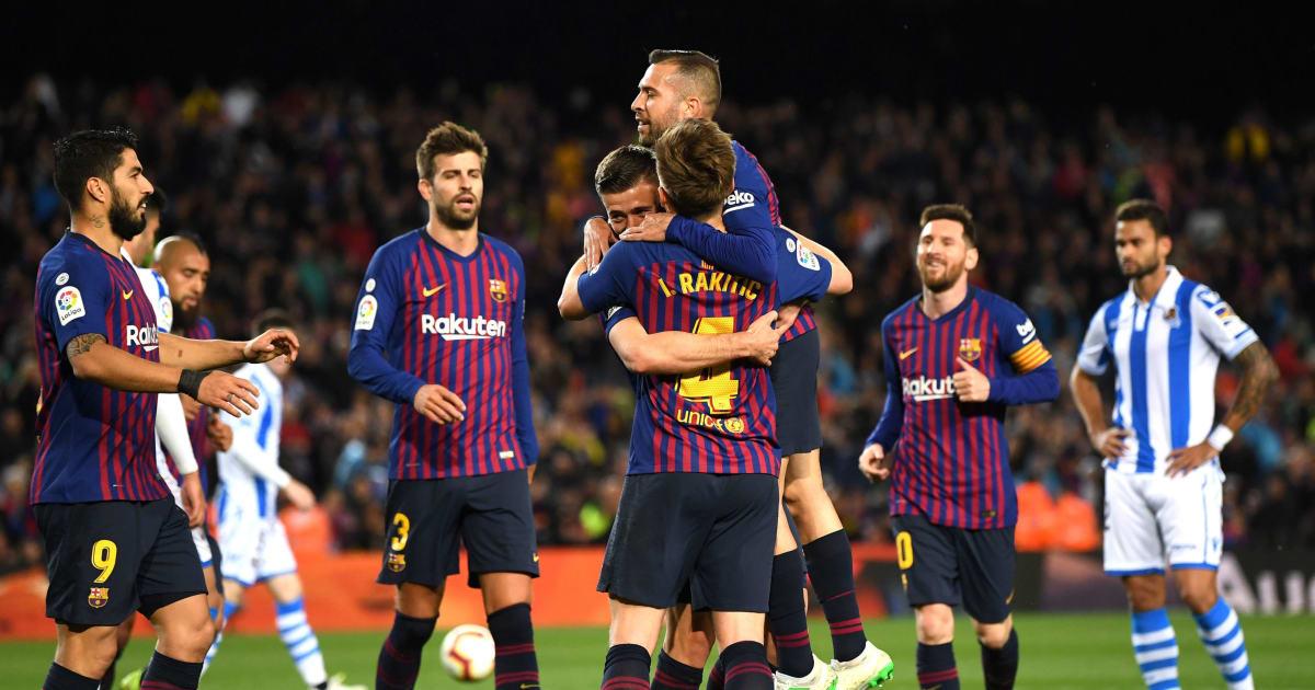 Prediksi Lineup Real Madrid Vs Getafe La Liga: Prediksi Lineup Barcelona Vs Levante - La Liga