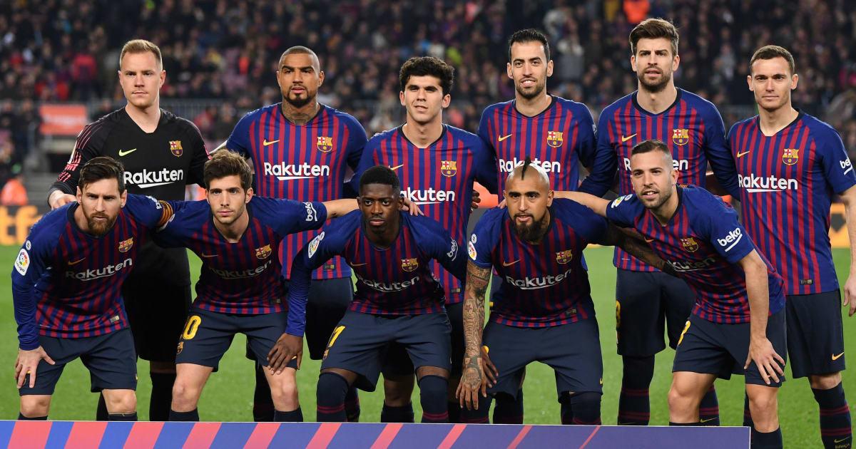 La posible alineación del FC Barcelona para medirse al ...
