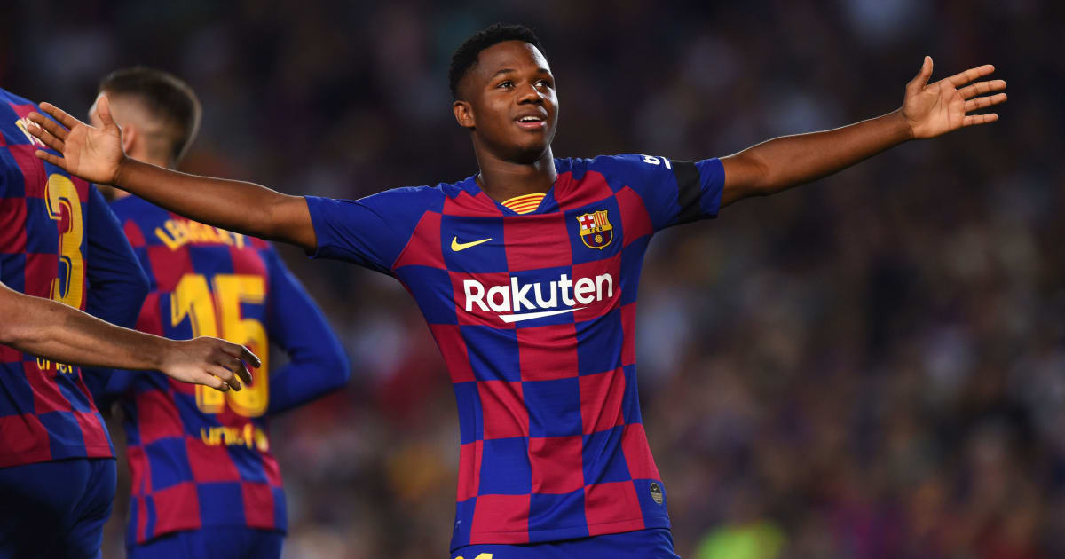 FC Barcelona Make Wonderkid Ansu Fati 'Bulletproof' With ...  |Ansu Fati