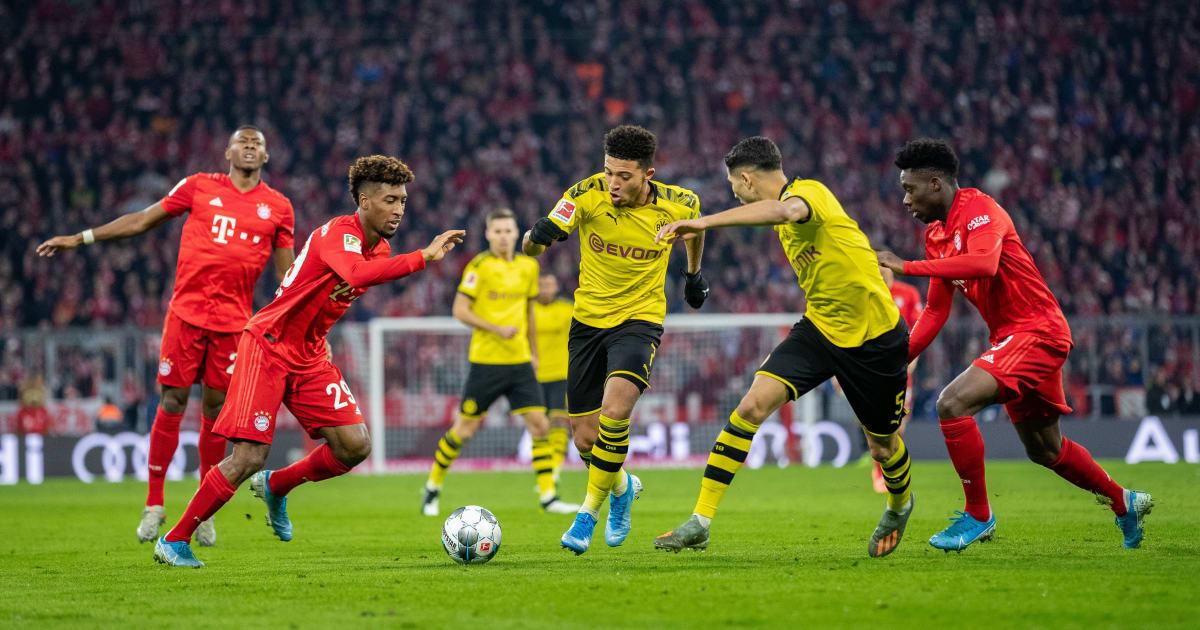 Bayern Vs Dortmund Aufstellung