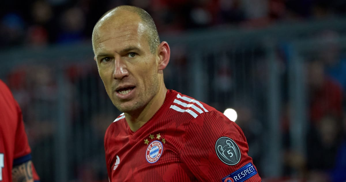 Arjen Robben Describes Anfield as the 'Worst Stadium' He's Experienced Ahead of Champions League Tie