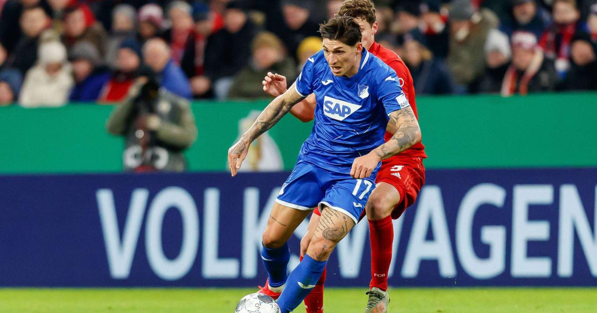 TSG Hoffenheim verlängert auslaufenden Vertrag mit Steven Zuber