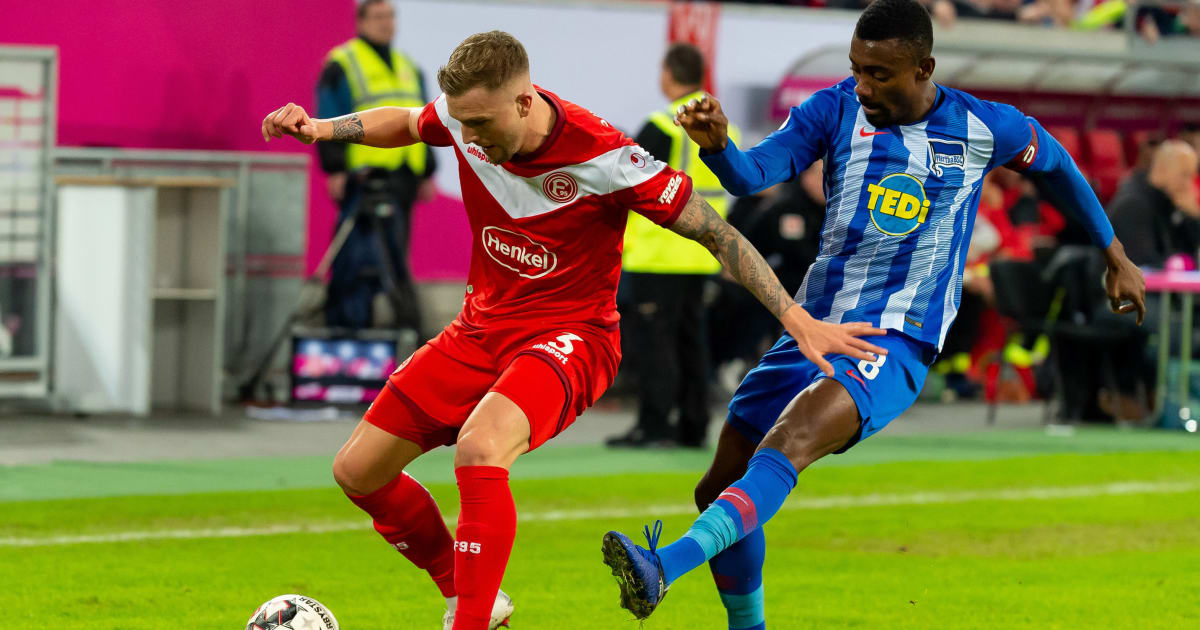 Fortuna Düsseldorf Vs. Hertha Bsc