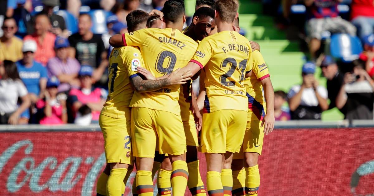 Getafe 0-2 Barcelona: Report, Ratings & Reaction as La