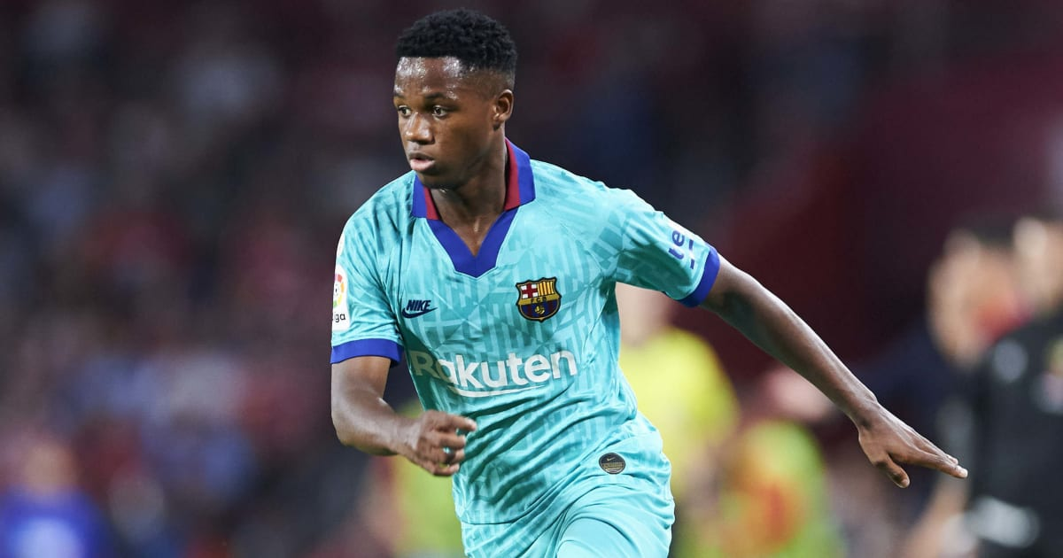 Ansu Fati Ruled Out of Barcelona's Clash With Getafe