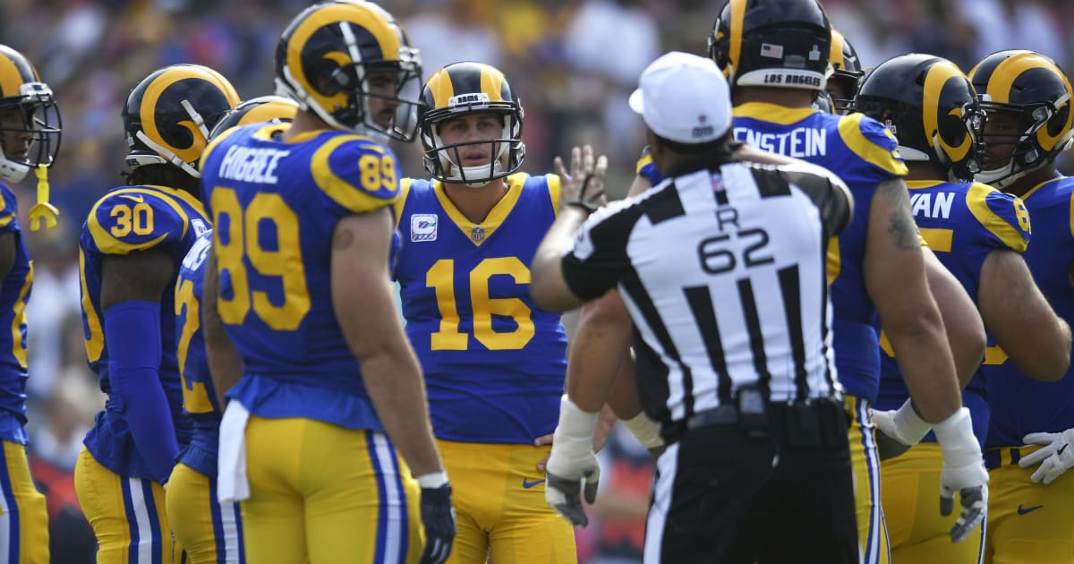 e7019627f86075 One NFL Referee Could Affect Betting on Rams vs Saints NFC Championship Game
