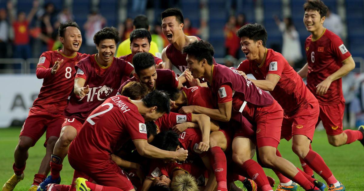 Vượt qua Jordan, tuyển Việt Nam bay cao trên bảng xếp hạng FIFA