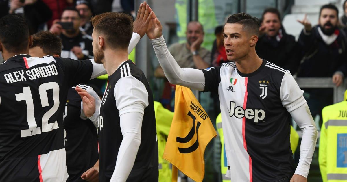 Juventus Cagliari Report Ratings Reaction As Ronaldo Treble Helps Bianconeri Go Top min