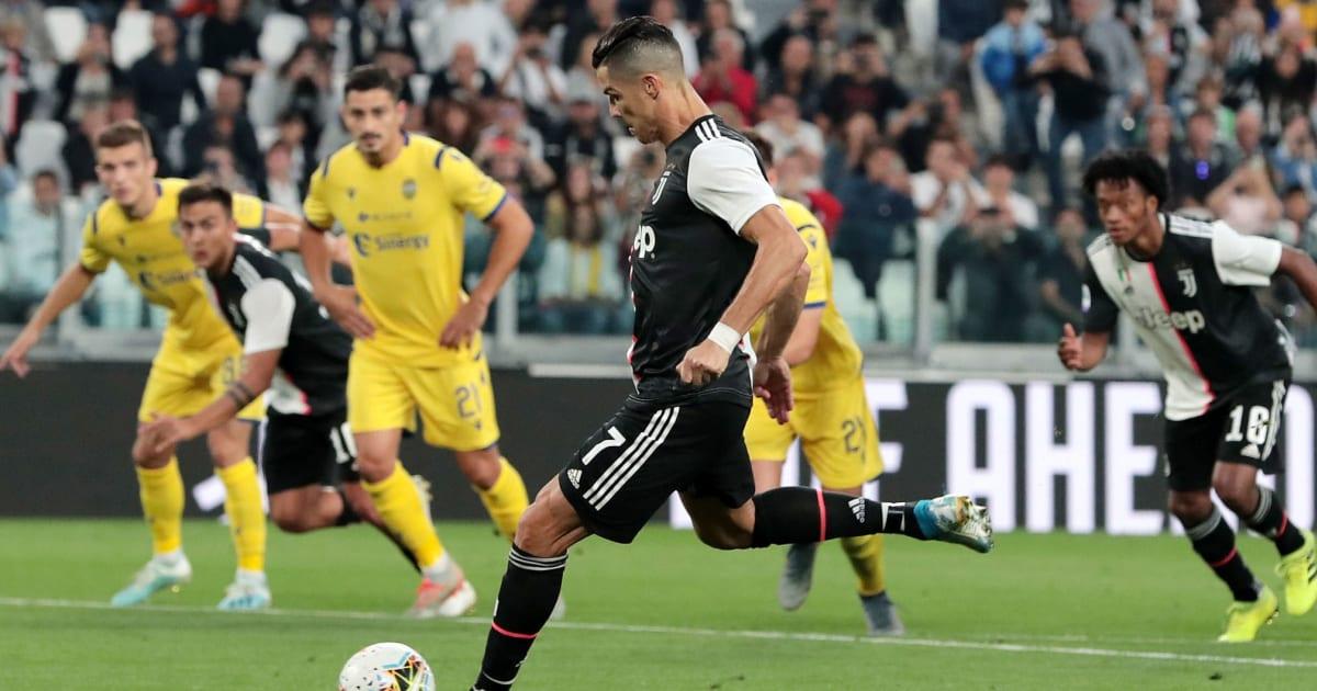 Juventus beat Verona; Inter, Lazio play draw, Roma held  |Juventus Verona