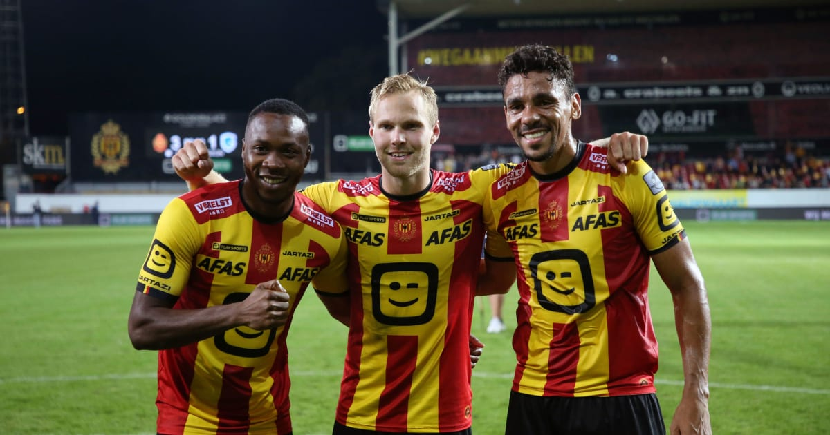 Kv Mechelen Striker William Togui Dreams Of Joining Club With Culture Of Winning Like Liverpool 90min