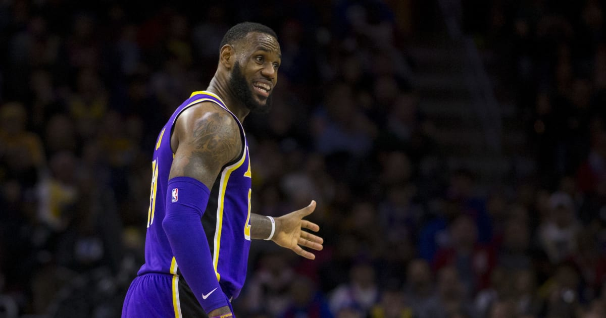aadef8f8a28 Flipboard  LeBron James Comments on Intense Media Coverage of Zion ...