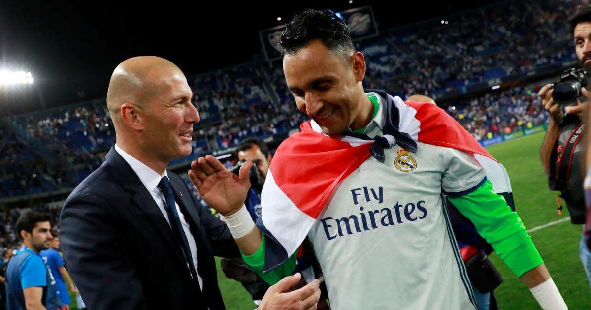 Về việc chia tay Keylor Navas, Zidane khiến tất cả bất ngờ với câu trả lời này