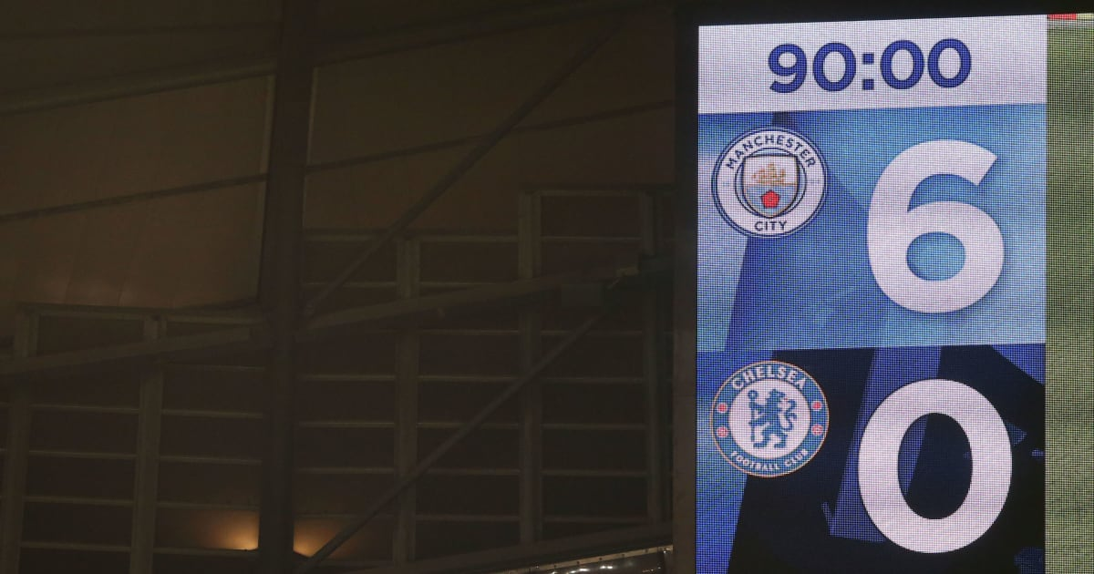 Manchester City Fc And Chelsea: Six Of Chelsea's Biggest Ever Defeats After The 6-0
