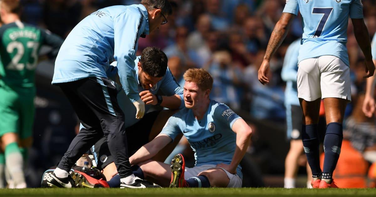 Pep xác nhận khả năng De Bruyne ra sân trong derby Manchester