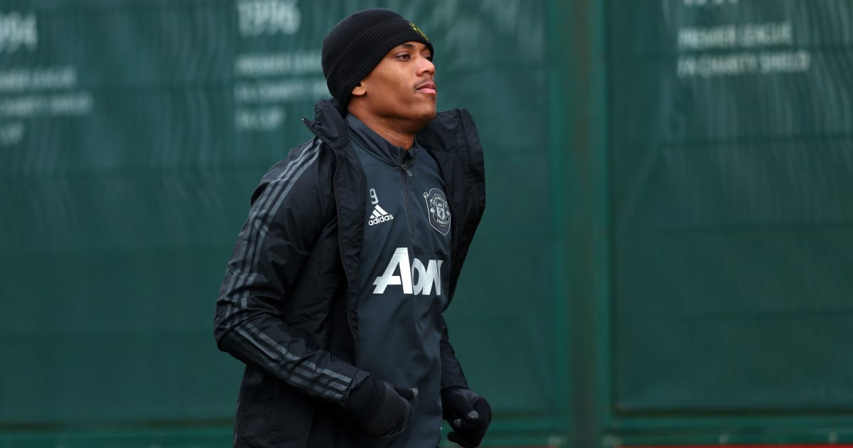 Manchester United Striker Anthony Martial Facing Another Layoff After Muscle Injury